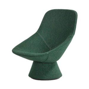 Pala is een volledig gestoffeerde design fauteuil op een voet, ontworpen door de Italiaanse designer Luca Nichetto voor Artifort.