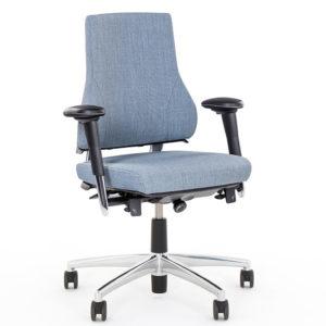 Axia 2.3 bureaustoelen grijs ergonomisch duurzaam