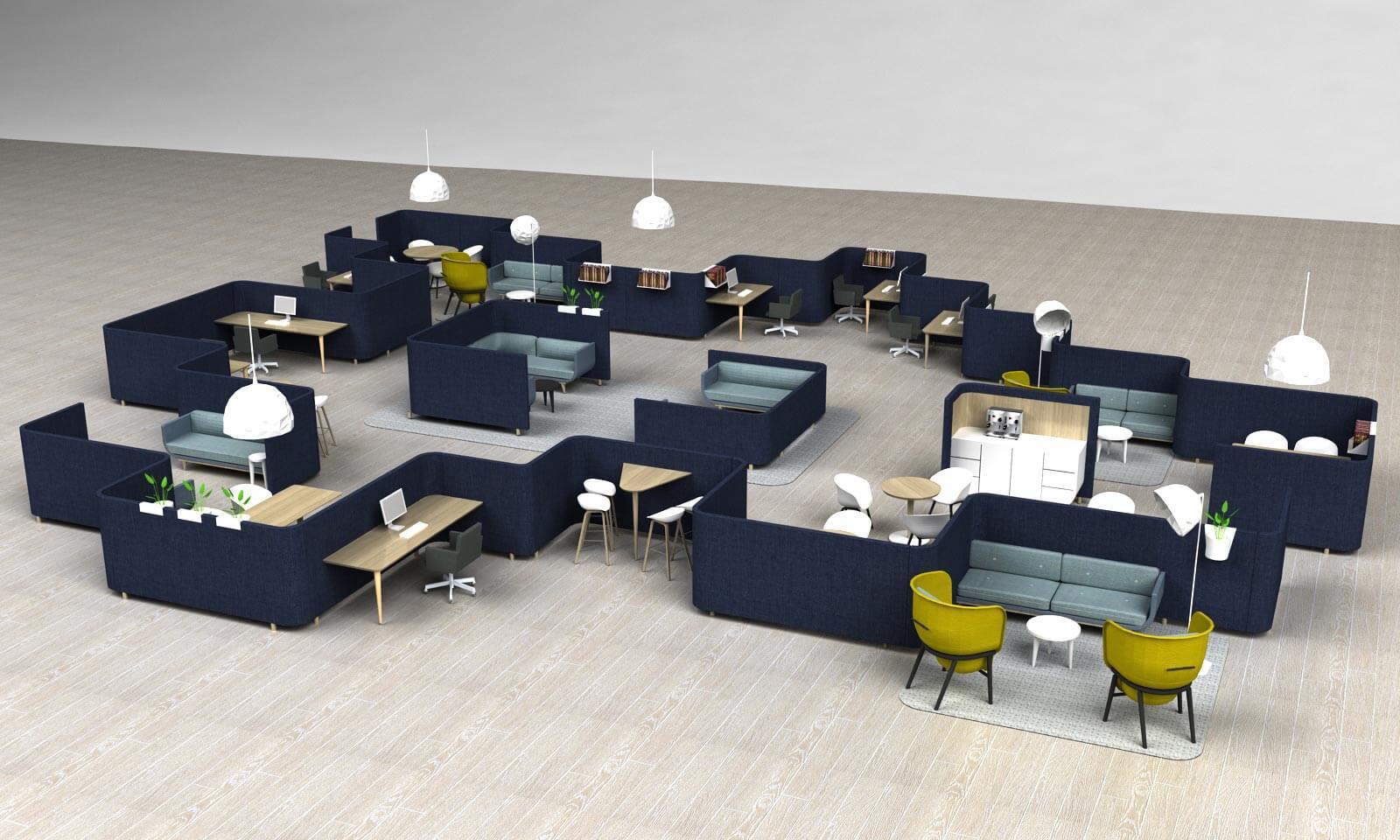 SVING: een compleet interieur met slechts één meubel