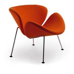 OSL_P00_16L Artifort Orange Slice Pierre Paulin design klassieker fauteuil oranje 4-poots