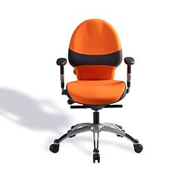RH extend bureaustoel oranje