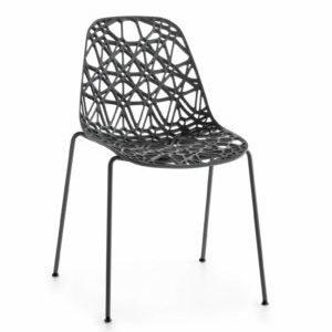 Nett stoel kantinestoel stapelbaar design