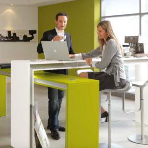 kit palmberg roomdivider brug communicatie procility overleg vergaderen
