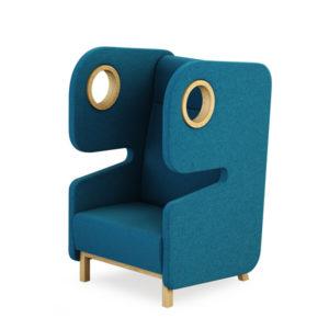 Mikomax Packman chair blue
