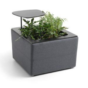 De U_Floe Box is een uniek exemplaar. Een leuke plantenbak die gelijk dient als bijzettafeltje.