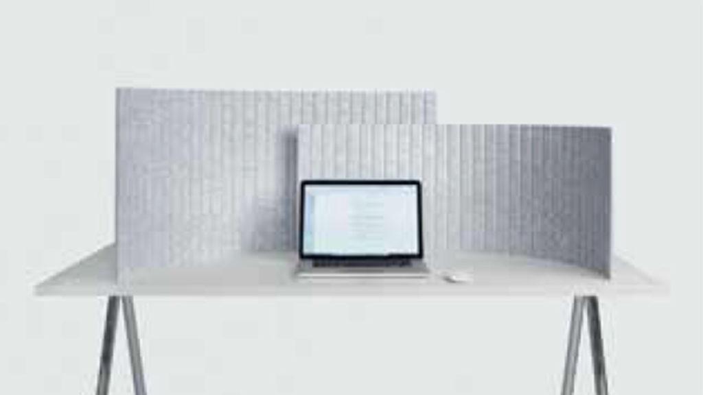 akoestisch scherm thuiswerken