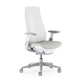 Haworth Fern bureaustoel natuur gebruiksvriendelijk ergonomisch wit