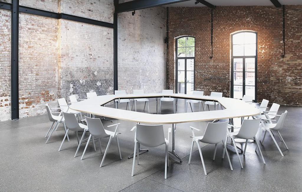 inklapbare vergadertafel mAx Wilkhahn
