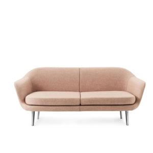 Sum Modular Sofa 2 seater Aluminum Normann Copenhagen zalm roze