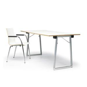 buggy stapelbare verrijdbare tafels klaptafel Lande kantoor interieur