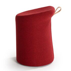 Lilla 2.0 Artifort Lilla 2.0 Patrick Norguet krukje design kantoor rood