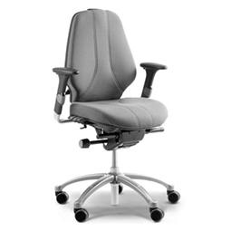 RH Logic 300 bureaustoel ergonomisch grijs met armsteunen