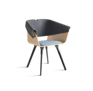 Vepa Circular furniture whale tail chair