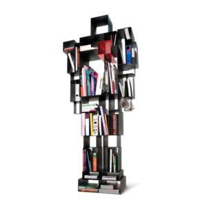 robox Casamania kasten boekenkast robot eyecatcher