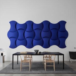 sky wall modulair en akoestisch systeem Abstracta