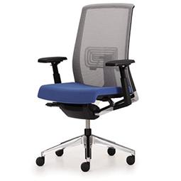 Haworth Very Comforto 62 bureaustoel netweave universele uitstraling kantoor blauwe zitting design